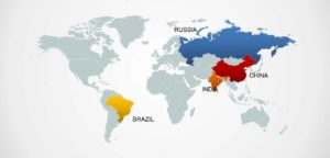 Foreign Investment - BRIC Nations Brazil, Russia, India and China