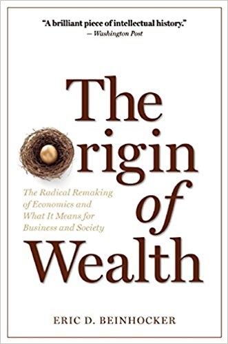 Origin of Wealth written by Eric D. Beinhocker